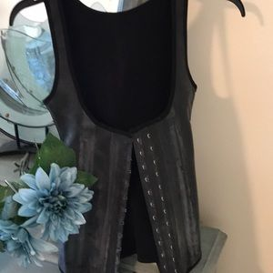 Ann Michell The Original latex corset.